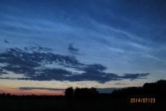 NLC, Noctilucent cloud